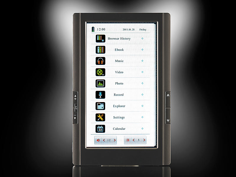 ; EBook-Reader, eBook-TabletsE-Pocketbooks