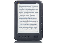 "eLyricon 6"" eBook-Reader EBX-610.T mit E-Ink-Touchscreen  & MP3-Player"